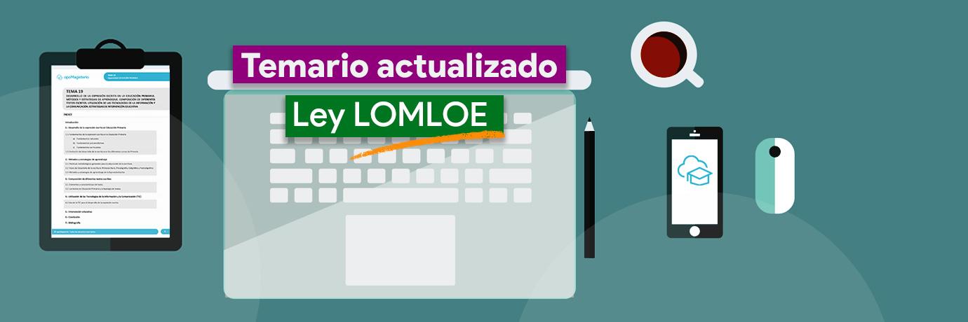 Temario LOMLOE